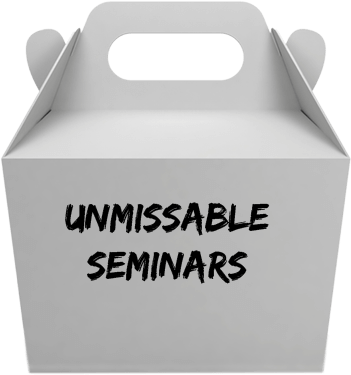 Unmissable Seminars